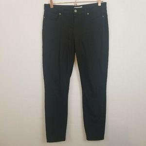 Paige Verdugo Ankle Denim Skinny Black Jeans
